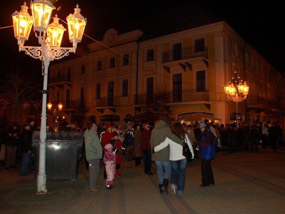 Silvestrovské oslavy ve Františkových Lázních