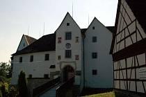Nádvoří hradu Seeberg