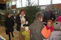 Na výstavu zvířat v německém Hohenbergu zavítaly děti z Domu dětí a mládeže Sova v Chebu.