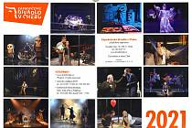 K blokovému předplatnému také získáte originální nástěnný kalendář Západočeského divadla pro rok 2021.