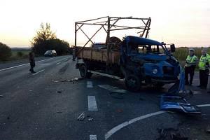 Dopravní nehody v kraji.