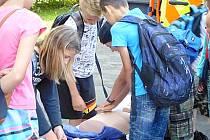 Strážníci poslali školáky bezpečně na prázdniny