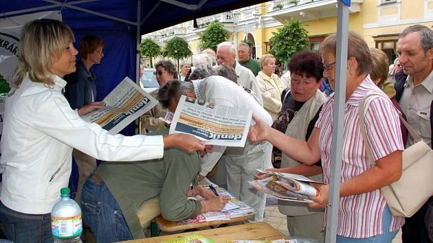 Den s Deníkem ve Františkových Lázních