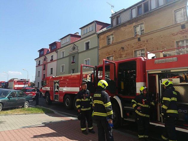 Vjednom zbytů vpečovatelském domě hořelo