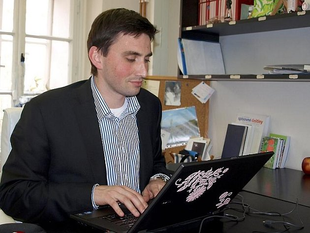 HOSTEM ON–LINE ROZHOVORU Deníku byl chebský místostarosta Tomáš Linda.