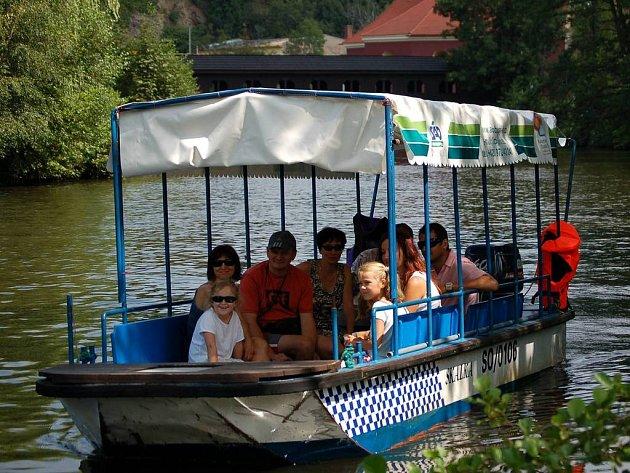 I v letošním roce budou po Ohři jezdit v Chebu výletní lodě