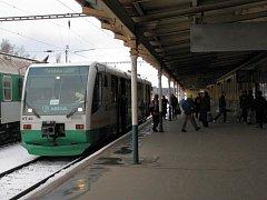 Osobní vlak společnosti Viamont právě dorazil do Mariánských Lázní