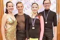 Chebští tanečníci slavili další úspěch.