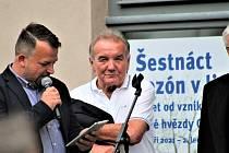 Zahájení výstavy Šestnáct sezon v lize v chebském Retromuseu