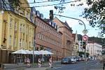 Rekonstrukce Chebské ulice v Mariánských Lázních.