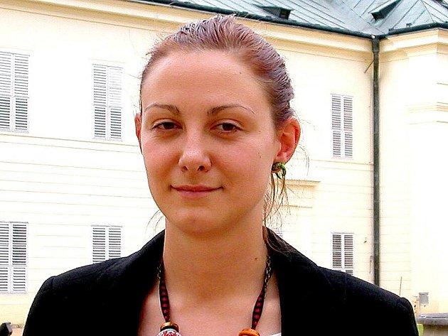 KURÁTORKA Marie Plešáková.