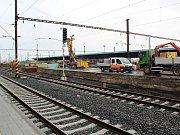 Rekonstrukce největšího nádraží v kraji, tedy v Chebu, přešla do další fáze.
