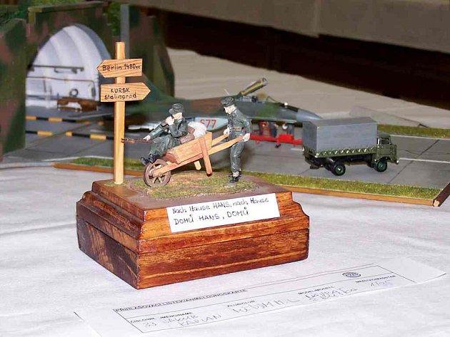 Soutěžní plastikový model z minulého ročníku Vojtova memoriálu v Chebu