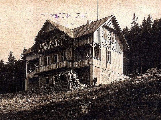 Turistická chata Dyleň