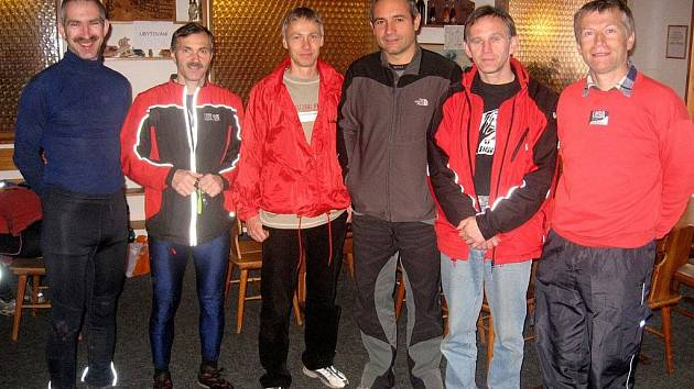 Zleva Jindřich Kovář, Karel Pilař (oba Aš), Tomáš Sedláček (Kralovice), Ondřej Janovič (Karlovy Vary), Josef Milota (Mariánské Lázně) a Jiří Hájek (Sokolov).