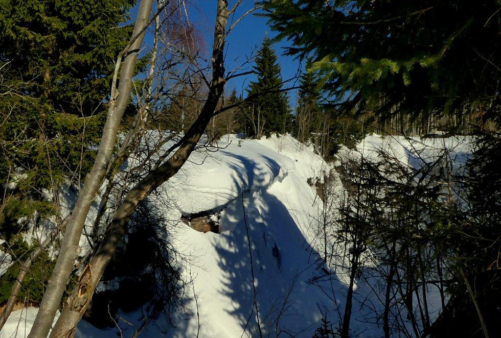 Schneppova pinka v Krušných horách