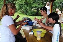 Letní tábor v Jedlové na Mariánskolázeňsku si účastníci velice pochvalovali.