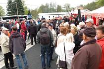 Zbrusu nové náměstí a naučná stezka. To jsou dvě novinky, ze kterých se mohou nyní těšit obyvatelé části města Plesná Šneky.
