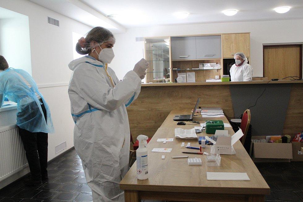 Testování v Lázních Kynžvartu.
