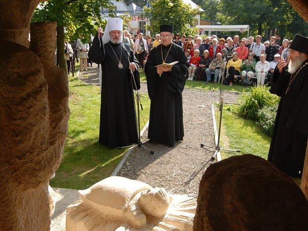 Svatováclavské setkání lidí dobré vůle na vrchu Krakonoš v Mariánských Lázních