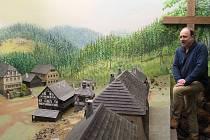 Model Mariánských Lázní je k vidění v mariánskolázeňském muzeu.