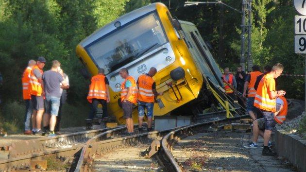 Nehody vlaků