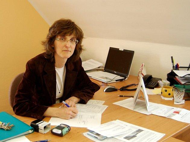 Eva Procházková, starostka obce Stará Voda