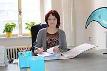 Ředitelka chebského hospice Alena Votavová.