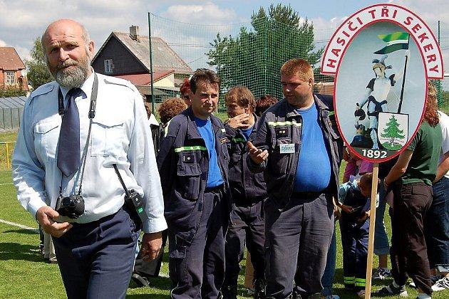 Dobrovolní hasiči ze Tři Seker letos oslavili své 115. výročí
