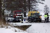 Na místě nehody bylo šest zraněných