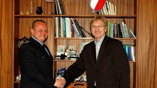 Podpis koordinační dohody na chebské radnici