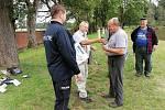 Rybářské závody policejních veteránů.