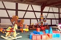 NOVOU EXPOZICI pro malé návštěvníky  připravili na Seebergu pracovníci františkolázeňského muzea a místní kastelán.