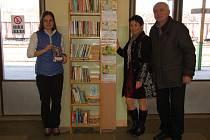 Knihovnička na františkolázeňském nádraží