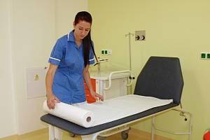 OPRAVENÝ PAVILON chebské nemocnice si lidé pochvalují.