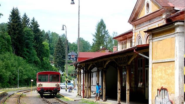 Na vlakovém nádraží v Kraslicích vzniká muzeum.