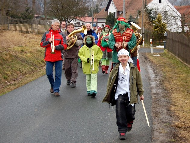 Masopustní oslavy v Tuřanech na Chebsku