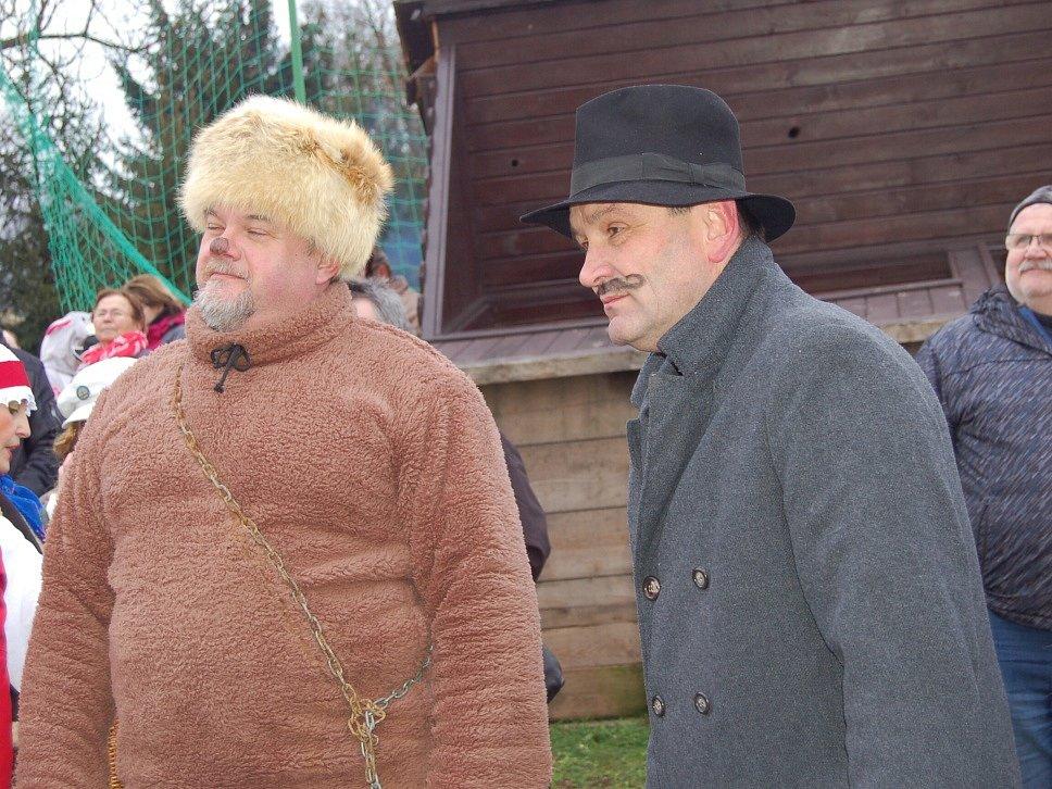 V Milíkově a Tuřanech si užili masopustní reje.