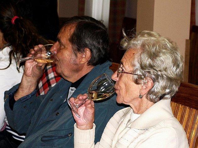 Vinobraní ve Vonšově.