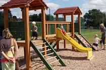Dětské hřiště v Krásném