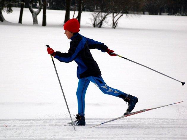 Běh na lyžích - ilustrační foto