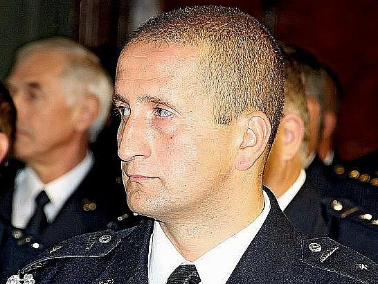 Petr Dvořák z Hasičské záchranné stanice Mariánské Lázně.
