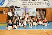 Úspěšní gymnasté a gymnastky z oddílu TJ Lokomotiva Cheb