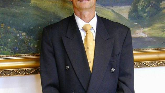 Ašský starosta Dalibor Blažek