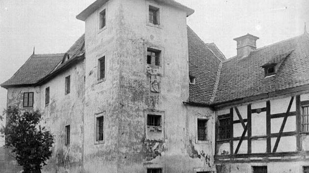 Zámek v Horní Hraničné.