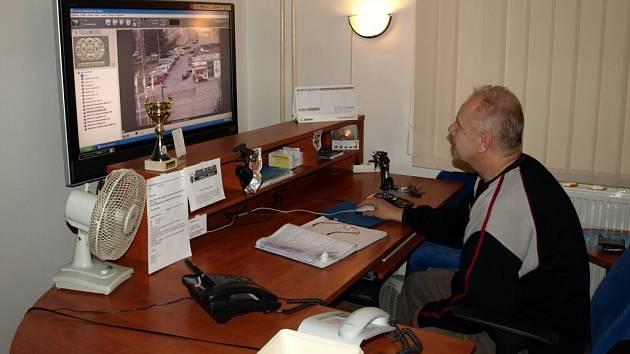 Pavel Mrtýnek, operátor městského dalkového kamerového systému