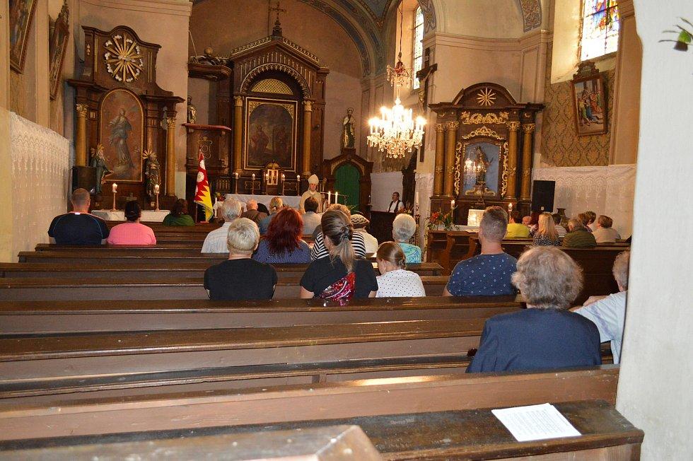 Oslava výročí kostela a setkání rodáků v Milíkově.
