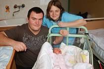 Jako první přišla na svět v chebské porodnici Gabrielka Švábová, a to v 7.38 hodin na Nový rok.