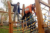 ŽANDOVSKÉ DĚTI mají díky projektu vyžití nedaleko místní základní školy.