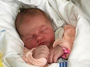 KATEŘINA MORÁVKOVÁ se poprvé rozkřičela ve čtvrtek 6. května v 5.50 hodin. Na svět přišla s krásnou váhou 4130 gramů a mírou 52 centimetrů. Doma v Žirovicích se raduje z malé Kateřinky tříletá Kristínka, maminka Barbora a tatínek Petr.